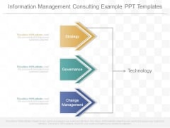 Information Management Consulting Example Ppt Templates