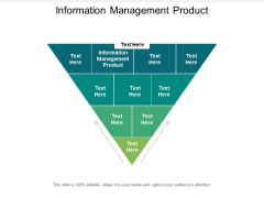 Information Management Product Ppt PowerPoint Presentation Deck Cpb