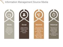Information Management Source Media Ppt PowerPoint Presentation Guide