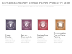 Information Management Strategic Planning Process Ppt Slides