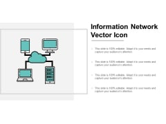 Information Network Vector Icon Ppt PowerPoint Presentation Model Shapes