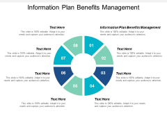 Information Plan Benefits Management Ppt PowerPoint Presentation Introduction Cpb