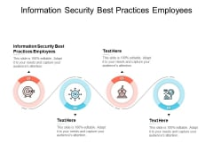 Information Security Best Practices Employees Ppt PowerPoint Presentation Styles Example Cpb