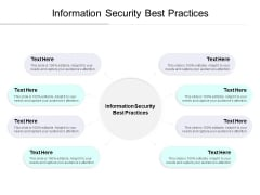 Information Security Best Practices Ppt PowerPoint Presentation Show Elements Cpb
