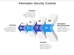 Information Security Controls Ppt Powerpoint Presentation Summary Cpb