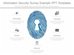Information Security Survey Example Ppt Templates