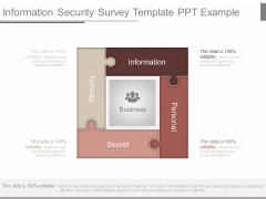 Information Security Survey Template Ppt Example