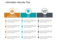Information Security Tool Ppt PowerPoint Presentation Summary Portrait Cpb