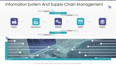 Information System And Supply Chain Management Ppt Layouts Information PDF