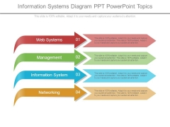 Information Systems Diagram Ppt Powerpoint Topics