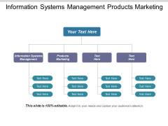 Information Systems Management Products Marketing Ppt PowerPoint Presentation Icon Grid