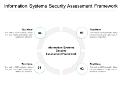Information Systems Security Assessment Framework Ppt PowerPoint Presentation Portfolio Graphics Pictures Cpb