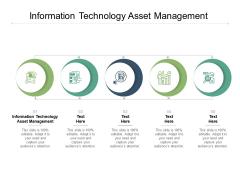 Information Technology Asset Management Ppt PowerPoint Presentation Slides Clipart Cpb