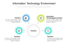 Information Technology Environment Ppt PowerPoint Presentation Summary Pictures Cpb