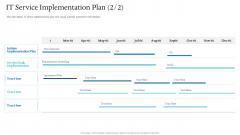 Information Technology Facilities Governance IT Service Implementation Plan Development Diagrams PDF