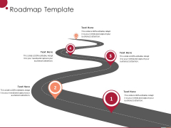 Information Technology Infrastructure Library Roadmap Template Ppt Outline Background Image PDF