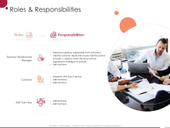Information Technology Infrastructure Library Roles And Responsibilities Ppt Outline Templates PDF