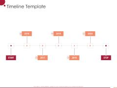 Information Technology Infrastructure Library Timeline Template Ppt Slides Information PDF