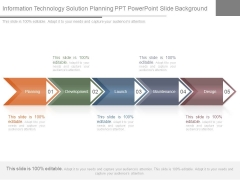 Information Technology Solution Planning Ppt Powerpoint Slide Background