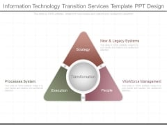 Information Technology Transition Services Template Ppt Design