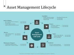 Infrastructure Project Management In Construction Asset Management Lifecycle Sample PDF