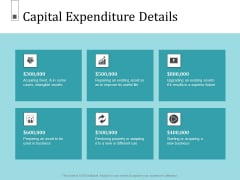 Infrastructure Project Management In Construction Capital Expenditure Details Inspiration PDF