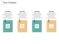Infrastructure Strategies Post It Notes Ppt Professional Portfolio PDF