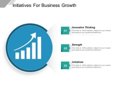 Initiatives For Business Growth Ppt PowerPoint Presentation Gallery Maker