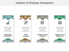 Initiatives For Employee Development Ppt PowerPoint Presentation Inspiration Maker
