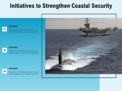 Initiatives To Strengthen Coastal Security Ppt PowerPoint Presentation Gallery Ideas PDF