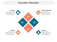 Innovation Disruption Ppt PowerPoint Presentation Slides Elements Cpb