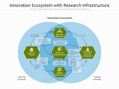 Innovation Ecosystem With Research Infrastructure Ppt PowerPoint Presentation Gallery Infographics PDF