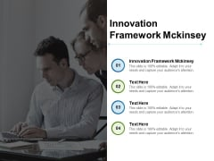 Innovation Framework Mckinsey Ppt PowerPoint Presentation Pictures Icons Cpb Pdf