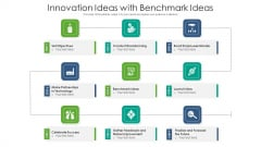 Innovation Ideas With Benchmark Ideas Ppt PowerPoint Presentation Gallery Visual Aids PDF