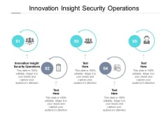 Innovation Insight Security Operations Ppt PowerPoint Presentation Professional Brochure Cpb Pdf