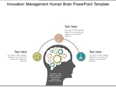 Innovation Management Human Brain Free PowerPoint Slide