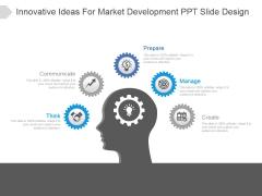 Innovative Ideas For Market Development Ppt Slide Design
