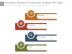 Innovative Solutions For Business Template Ppt Slide