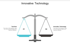 Innovative Technology Ppt PowerPoint Presentation Pictures Background Images Cpb