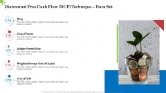 Inorganic Growth Business Discounted Free Cash Flow Dcf Technique Data Set Ppt Summary Format Ideas PDF