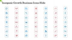Inorganic Growth Business Icons Slide Ppt Icon PDF