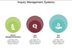 Inquiry Management Systems Ppt PowerPoint Presentation Ideas Gridlines Cpb