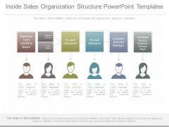 Inside Sales Organization Structure Powerpoint Templates