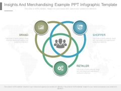 Insights And Merchandising Example Ppt Infographic Template