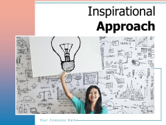 Inspirational Approach Innovation Strategy Ppt PowerPoint Presentation Complete Deck