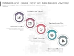 Installation And Training Powerpoint Slide Designs Download
