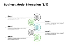 Instruction Manuals Business Model Bifurcation Stream Five Ppt Show Styles PDF
