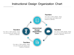 Instructional Design Organization Chart Ppt PowerPoint Presentation Infographics Guide Cpb