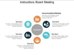 Instructions Board Meeting Ppt PowerPoint Presentation Professional Show Cpb