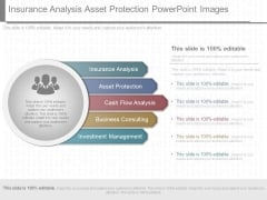 Insurance Analysis Asset Protection Powerpoint Images